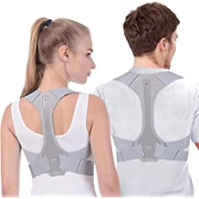 BOBOLONG Posture Corrector for Men and Women FDA Approved Adjustable Upper Back Brace for Support and Spinal Alignment, Providing Shoulder-Neck-Back Pain Relief(Large)