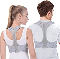 BOBOLONG Posture Corrector for Men and Women FDA Approved Adjustable Upper Back Brace for Support and Spinal Alignment,...
