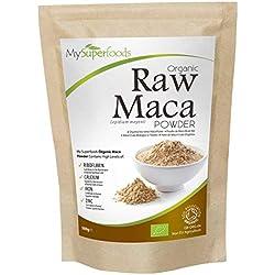 Bio Maca Pulver (500g) | MySuperFoods | Bepackt mit gesunden Nährstoffen | Antike gesunde Lebensmittel aus Peru | Köstlicher malziger Geschmack | Organisch zertifiziert