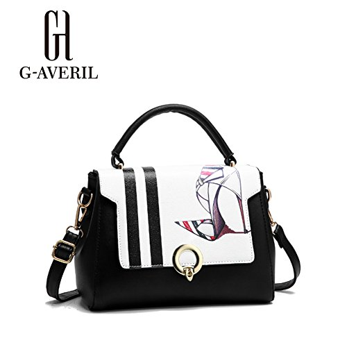 G-AVERIL, Borsa a zainetto donna Black5 Black1