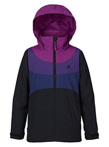 Burton Mädchen Hart Jacket Snowboardjacke, True Black/Grapeseed/Petunia, XS   09009520679636
