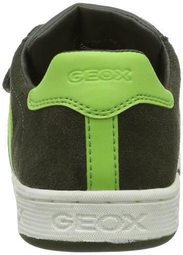 Geox JR MALTIN BOY A J42G3A022BCC0914 Jungen Sneaker Grün (MILITARY/LIME)