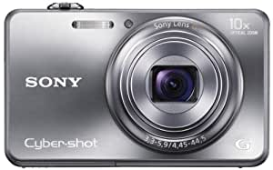 Sony Cyber-shot DSC-WX150 18.2MP Point-and-Shoot Digital Camera (Silver) with Camera Case