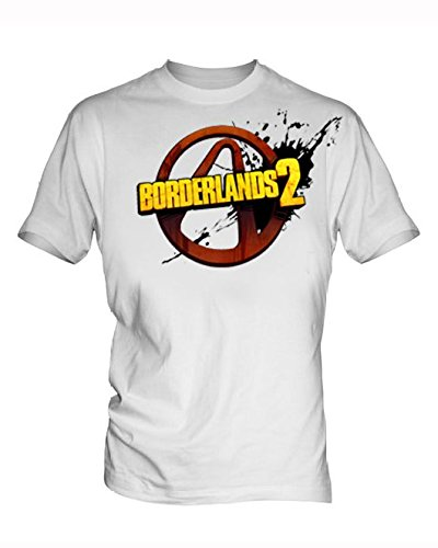 Borderlands Uomo White T Shirt