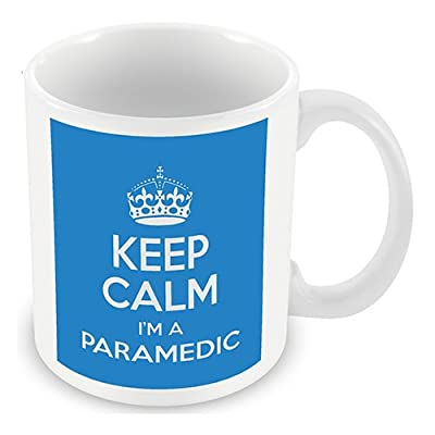 Keep Calm I'm a Paramedic (Light Blue) Mug