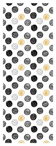 Doge milano passatoia antiscivolo 100% made in italy, antimacchia in ciniglia di poliestere effetto velluto, tappeto lavabile in lavatrice, runner cucina antiacaro, 140 x 52, tessuto microfibra, 140
