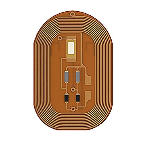 Ic-telefon (babysbreath17 Frauen N2 Smart-Nagel-Aufkleber-Telefon-Display-Sperre NFC-Chipsatz ID IC-Karte Wearable Intelligent Nagel-Spitzen 3 10 * 7mm)