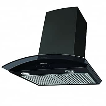 ... Faber Feel Plus BK TC LTW 60   Kitchen Chimneys And Hoods