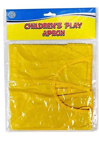 Fusion Ärmellos (NEWSTYLE Kinder spielen Schürze ärmellos leicht zu reinigen spielen abwischen Kunst Handwerk wasserfest)