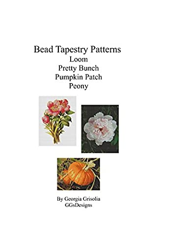 Bead Tapestry Patterns Loom Pretty Bunch Pumpkin Patch Peony
