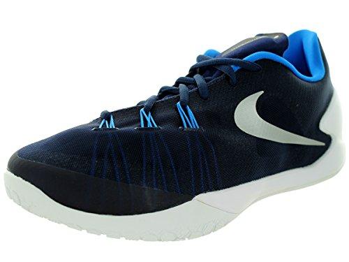 Nike Hyperchase Tb, - homme Midnight Navy/White/Photo Blue/Metallic Silver