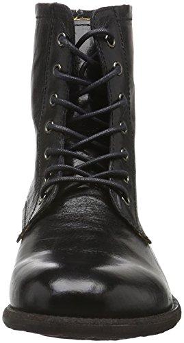 Blackstone Il94, Bottes Desert de hauteur moyenne, doublure froide femme Noir (Black)
