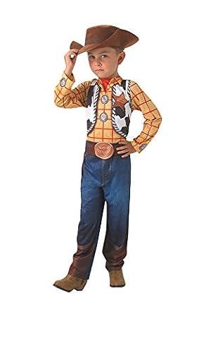 Disney - I-610384s - Déguisement Pour Enfant - Classique Woody + Chapeau - Taille S