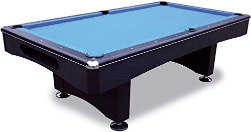 Pool Billardtisch Black Pool 8 ft - 224x112 cm mit Schieferplatte inkl. Montage und Zubehörset von John West Billard