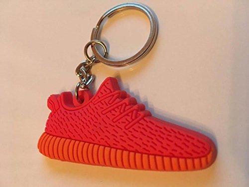 Preisvergleich Produktbild Adidas Yeezy 350 Boost Schlüsselanhänger Rot Sneaker Keychain Red