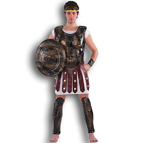 CARNIVAL TOYS S.R.L. Carnival Toys 1834 - Gladiator-Set, Brustpanzer, Schild