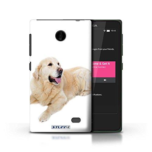 Kobalt® Imprimé Etui / Coque pour Nokia X / Cocker Spaniel conception / Série Chiens Labrador