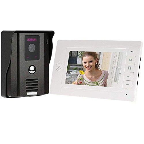 MUTANG Video teléfono Timbre entrada Sistema intercomunicación