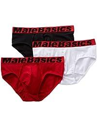 Male Basics MB-004 Bikini Black Mens Underwear