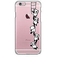 Fundas y estuches para teléfonos móviles, Caso para el iphone ultrafino suave 7 de la cubierta del caso de la contraportada del tpu de la panda del iphone 7 7 más 6 6s más se 5s 5 ( Modelos Compatibles : IPhone 6s/6 )