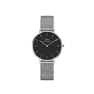 Daniel Wellington Reloj Digital para Mujer de Cuarzo con Correa en Acero Inoxidable DW00100162