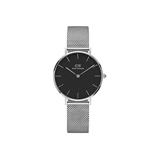 Daniel Wellington Unisex Erwachsene Digital Quarz Uhr mit Edelstahl Armband DW00100162