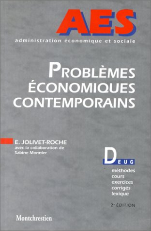 Problèmes économiques contemporains, 2e édition