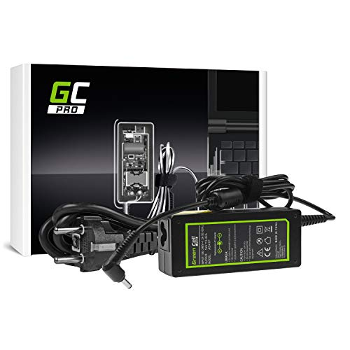 GC PRO Netzteil für Asus F553 F553M F553MA R540L R540S X540S X553 X553M X553MA ZenBook UX303L Laptop Ladegerät inkl. Stromkabel (19V 3.42A 65W)