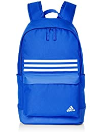 3714d4d4f2 Adidas Unisex Blue Classic 3-Stripes Pock Backpack