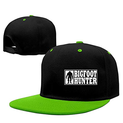 Men&Women Funny Bigfoot Hunter - Finding Bigfoot Gear Tennis Hats Adjustable Hunter Knit Hat