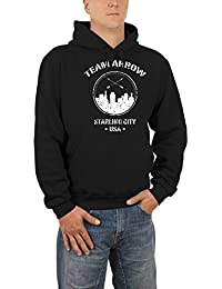 Touchlines Herren Kapuzenpullover Team Arrow