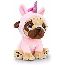 Keel Toys Pugsley 20cm Unicorn Pug Dog .