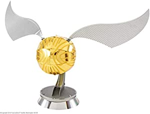 Professor PUZZLE-Harry Potter Metal Earth Golden Snitch Kit de Modelo 3D, Color, Estándar MMS442