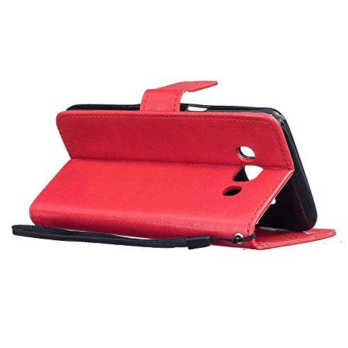 """iPhone 7 Coque (4.7""""), [ de matériau TPU souple ] iPhone 7 étui (4.7 pouces), poussière glissement résistant aux rayures, iPhone 7 Case canette Can & Bouchon anti-poussière Rouge"""