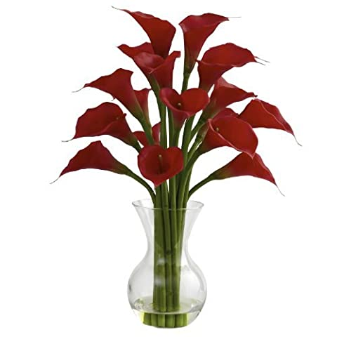Galla Calla Lily w/Vase Arrangement by NNaturals