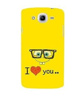 EPICCASE glassy love Mobile Back Case Cover For Samsung Galaxy Mega 5.8 I 9150 (Designer Case)