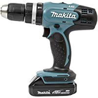 Makita ddf453syj Pistol Grip Drill Lithium-Ion (Li-Ion) 1.5Ah 1600g Black, Blue Cordless Combi Drill–Akku-Bohrer (Pistol Grip Drill, Drilling, Screwdriving, Black, Blue, 3.6cm, 1.3cm, 42Nm)