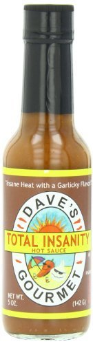S/s Sauce (Total Insanity Hot Sauce from Dave's Gourmet Total Insanity Hot Sauce - 5oz by Dave's Gourmet)