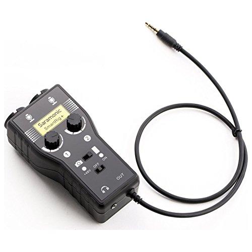 Saramonic SRSMARTRIG2Zwei-Kanal-Mikrofon und Gitarren-Schnittstelle (Foto-mixer)