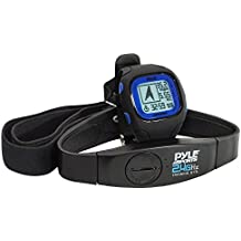 Pyle PSWGP405Bl - Reloj GPS con pulsómetro y cinturón torácico, color azul