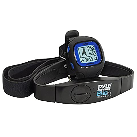 Cardiofréquencemètre, Montre GPS Pyle avec Transmission codée de la Fréquence