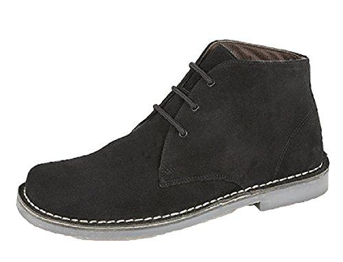 Roamer ,  Unisex - Erwachsene Desert Boots Schwarz