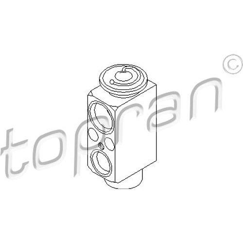 TOPRAN Expansionsventil für Klimaanlage, 501 547