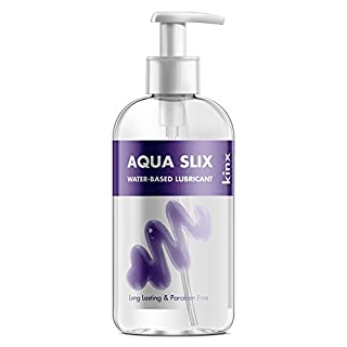Kinx Aqua Slix Water-based Lubricant, 250 ml, Transparent