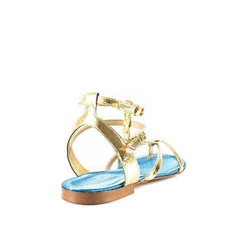 88e8c27f8794 S16057E021300529 Liu Jo Sandalen Damen PVC Gold Gold -milch-net.de
