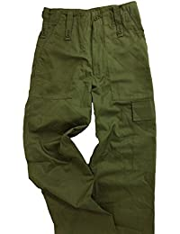 BRITISH ARMY ISSUE COMBAT,BDU TROUSERS, OLIVE