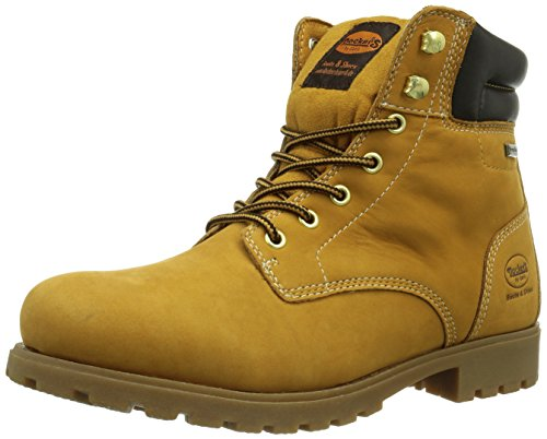 Dockers by Gerli 350540-003093, Bottes Desert courtes, doublure froide homme Jaune (Golden Tan)