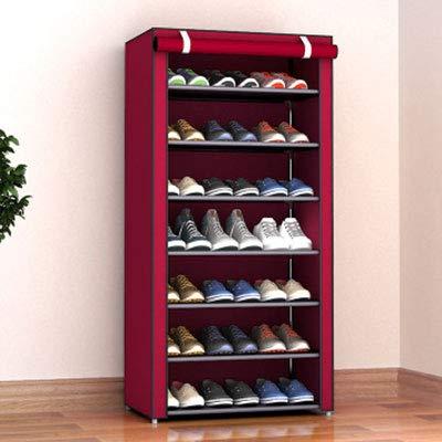 TAA19 - Zapatero de Tela Plegable con múltiples Capas para organizar Zapatos