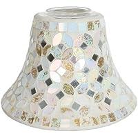 Village Candle Company-& oro metallizzata Green-Candela in barattolo di vetro, paralume