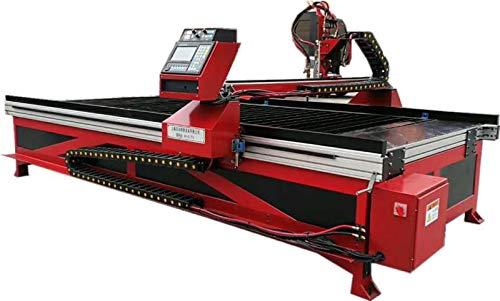 Mesa de corte de plasma con gas oxicorte y llama CNC (1500x2500mm)